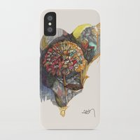 notebook iPhone & iPod Cases featuring notebook flora by Hayley Powers Studio