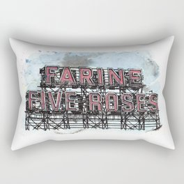 Farine Five Roses - Griffintown Rectangular Pillow