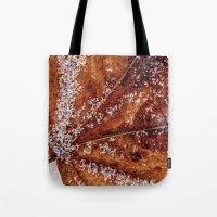 sprinkles Tote Bags featuring sprinkles by Bonnie Jakobsen-Martin