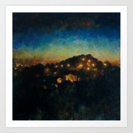 The Hill Art Print