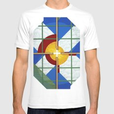 Altered State: CO MEDIUM White Mens Fitted Tee