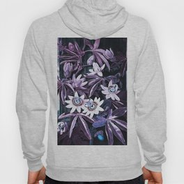 Temple of Flora UltraViolet Mauve Blue Hoody