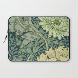 William Morris - Wallpaper Sample With Chrysanthemum Laptop Sleeve