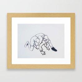 Move 4 Framed Art Print