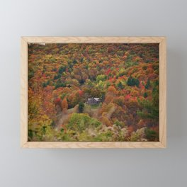 Dreamhouse in Wilderness Framed Mini Art Print