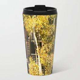 Fall Cabin Travel Mug