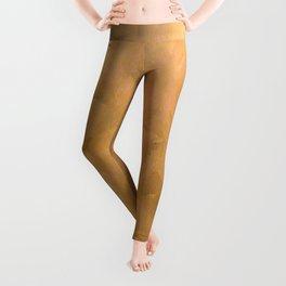 Brushed Copper Metallic - Beautiful - Rustic Glam - Fancy Faux Finishes - Unique Leggings