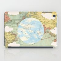 world maps iPad Cases featuring Off The Maps by Grace M