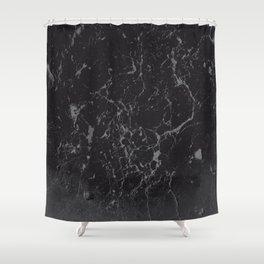 Gray Black Marble #1 #decor #art #society6 Shower Curtain