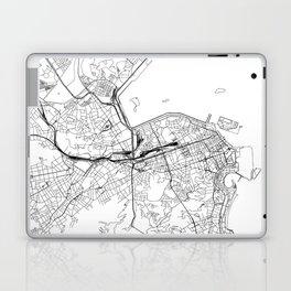 Rio De Janeiro White Map Laptop & iPad Skin