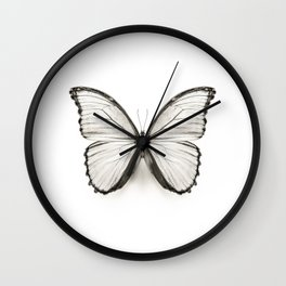 Mono Morpho Butterfly Wall Clock
