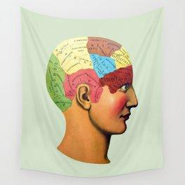 Phrenology | It used to be science Wall Tapestry