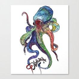 Sea Devil Canvas Print