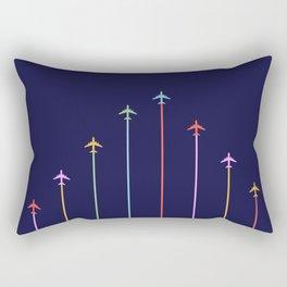 Retro Airplanes 09 Rectangular Pillow