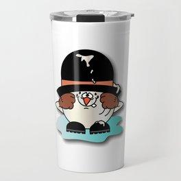 Cartoon Snowball Guy 1 Travel Mug