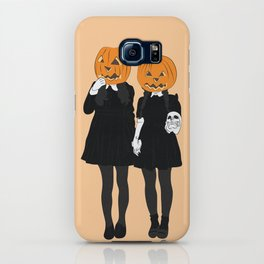 Pumpkin Heads iPhone Case