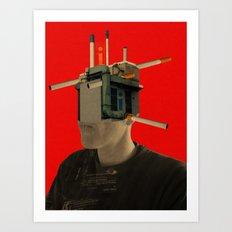 iHead Art Print