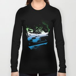 Turntable Apart Long Sleeve T-shirt