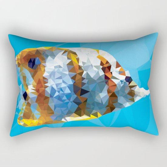 Fractal Fish Rectangular Pillow