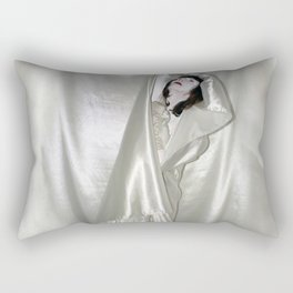 "say no to patriarchy / ""the drama"" Rectangular Pillow"
