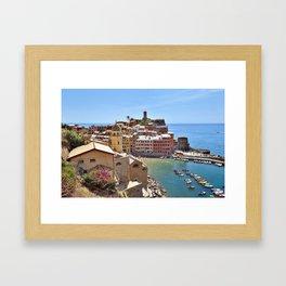 Italian Beauty Framed Art Print