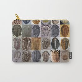 Trilobite Montage Carry-All Pouch