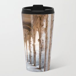 Roman Amphitheatre Arches in Arles. Travel Mug