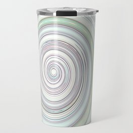 Re-Created Spin Painting No. 11 by Robert S. Lee Travel Mug