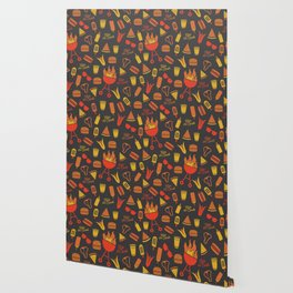 Kiss the Cook - Dark Palette Wallpaper