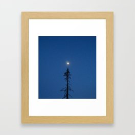 Please head North Framed Art Print