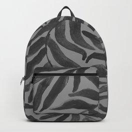 watercolor spiral leaves 5 Backpack