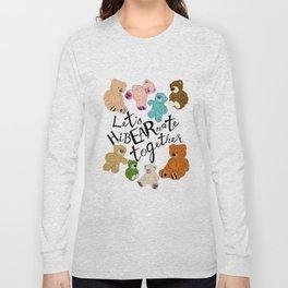 Hi BEAR nate Long Sleeve T-shirt