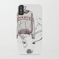 Christmas Design Rudolph Slim Case iPhone X