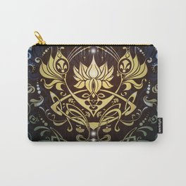 Divine Lotus by Emma Parrish Carry-All Pouch