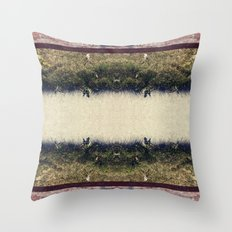 Ground // Grass // Grain Throw Pillow