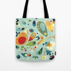 Wobbly Spring Tote Bag