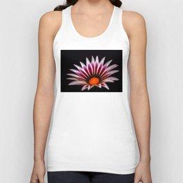 Big Kiss White Flame Flower Unisex Tank Top