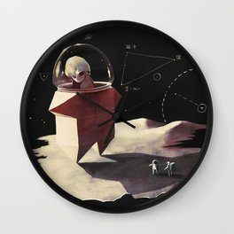 Space monster Wall Clock