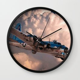 B-29 Superfortress Wall Clock