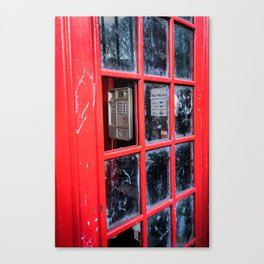 No Dialtone Canvas Print