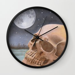 The Graveyard Shift Wall Clock