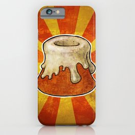Grunged sweetroll  iPhone Case