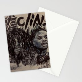 DECLINE Stationery Cards