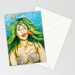 Mindfuck mermaid Stationery Cards