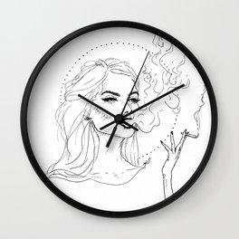 Smoker Wall Clock