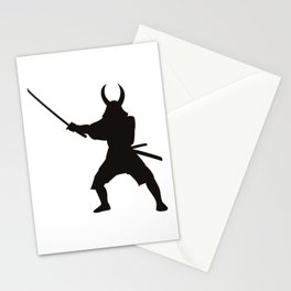 Samurai Sword Warrior Stationery Cards