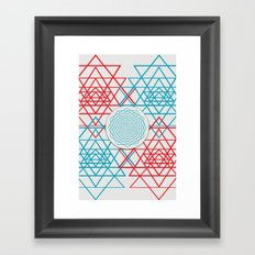 Geometrical 001  Framed Art Print