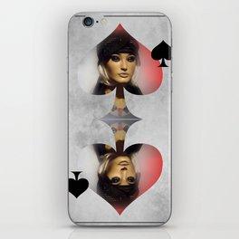 Queen of Spades iPhone Skin