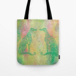 A Greyhound for All Seasons - Spring Tote Bag