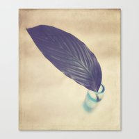 botanical Canvas Prints featuring Botanical by Jessica Torres Photography